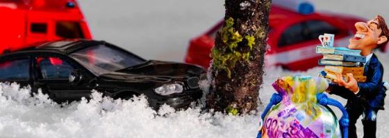 Автомобиль врезался в дерево – ДТП